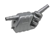 Auspuff-Schalldämpfer 33 Liter