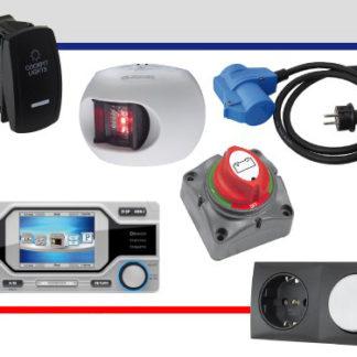 Beleuchtung und Elektronik