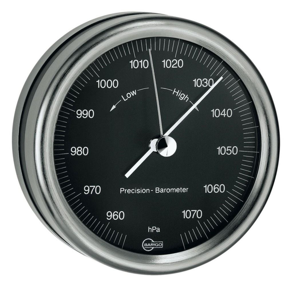 BARIGO Typ Tempo Barometer Skal Ø 85mm BR183