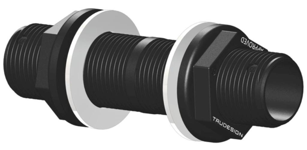 """TRUDESIGN,Einhand-Montagewerkz Trudesign-Borddurchbr.1//1//2/"""" TD90936"""